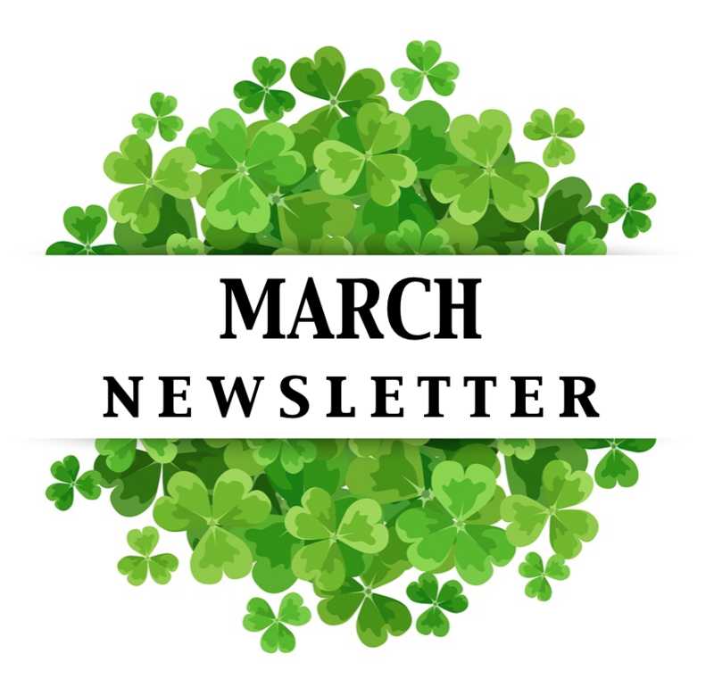 Click Here for March Newsletter Featured Photo