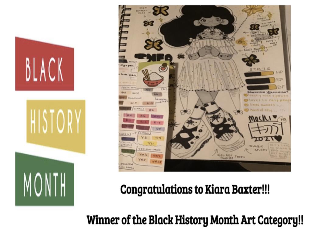 Black History Month Contest Winner
