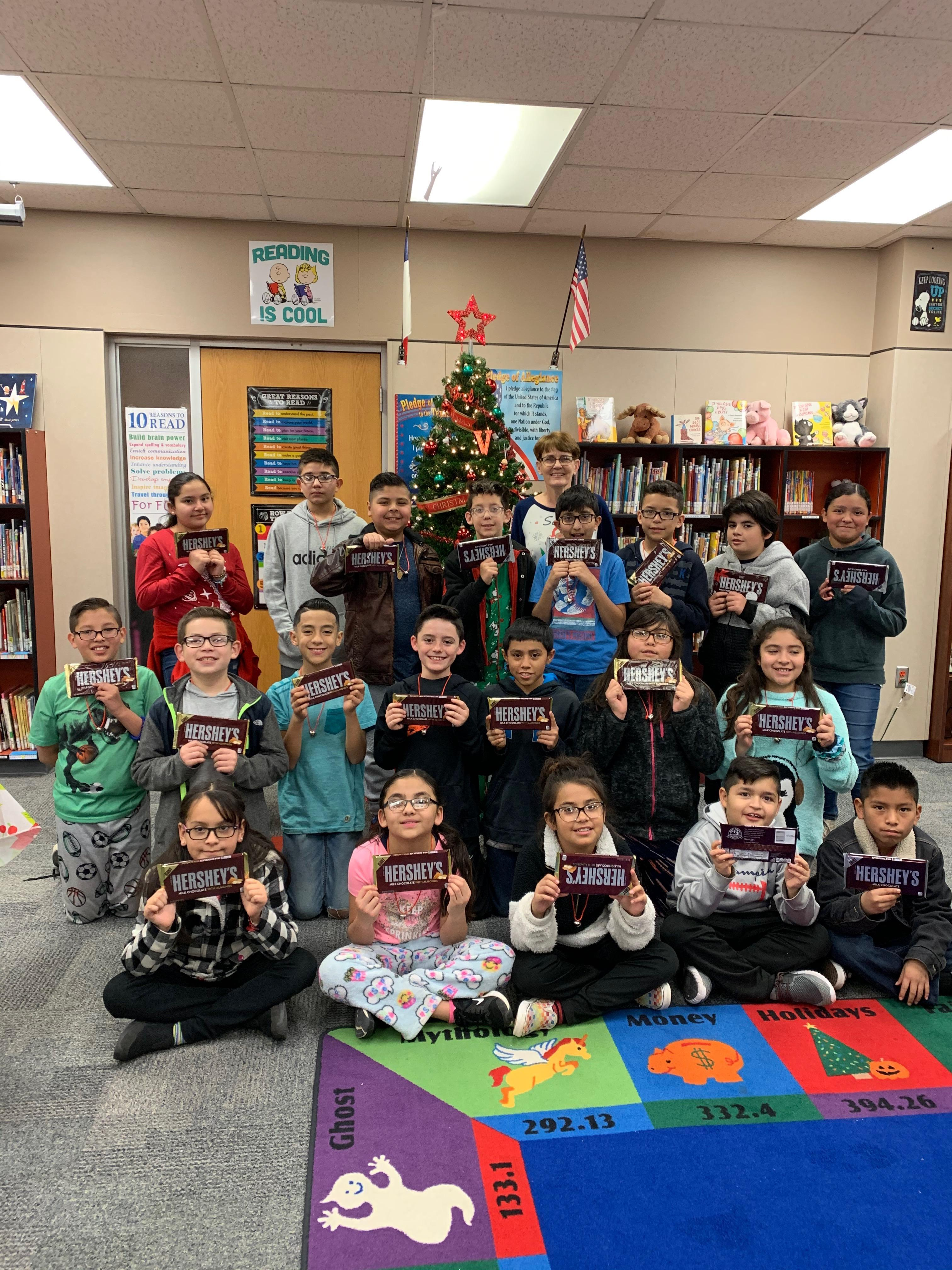 Ms. Goodin's Class. Most Words read Dec. 2 - 18, 2019.