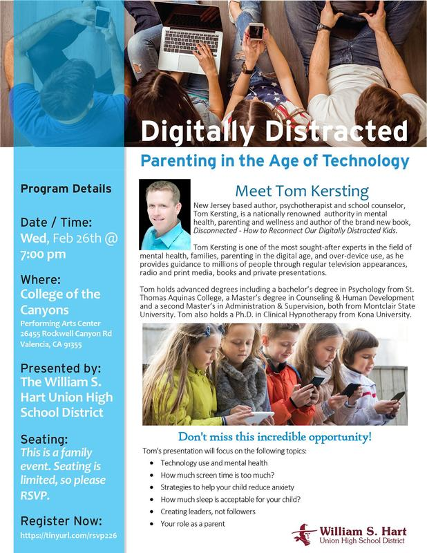 PACE Presents: Digitally Distracted: Parenting in the Age of Technology Featured Photo