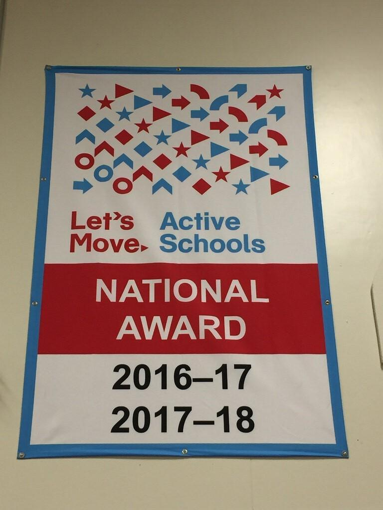 Let's Move! Active Schools National Award
