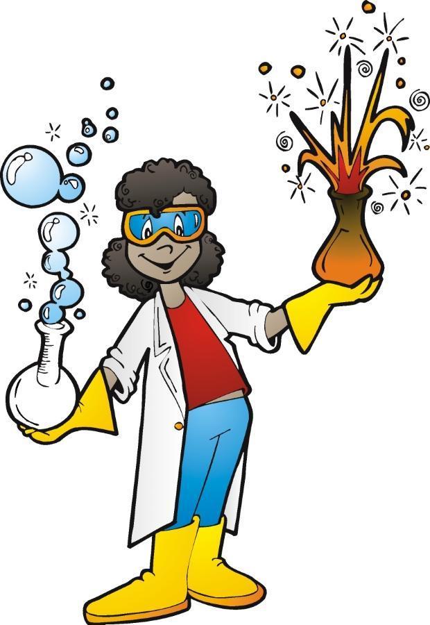 lady scientist