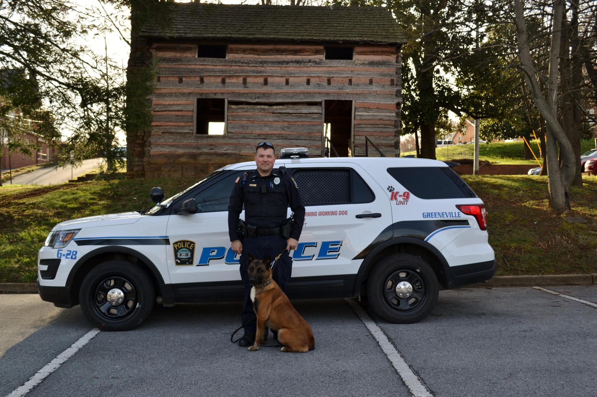 Officer E Davis and Kidd