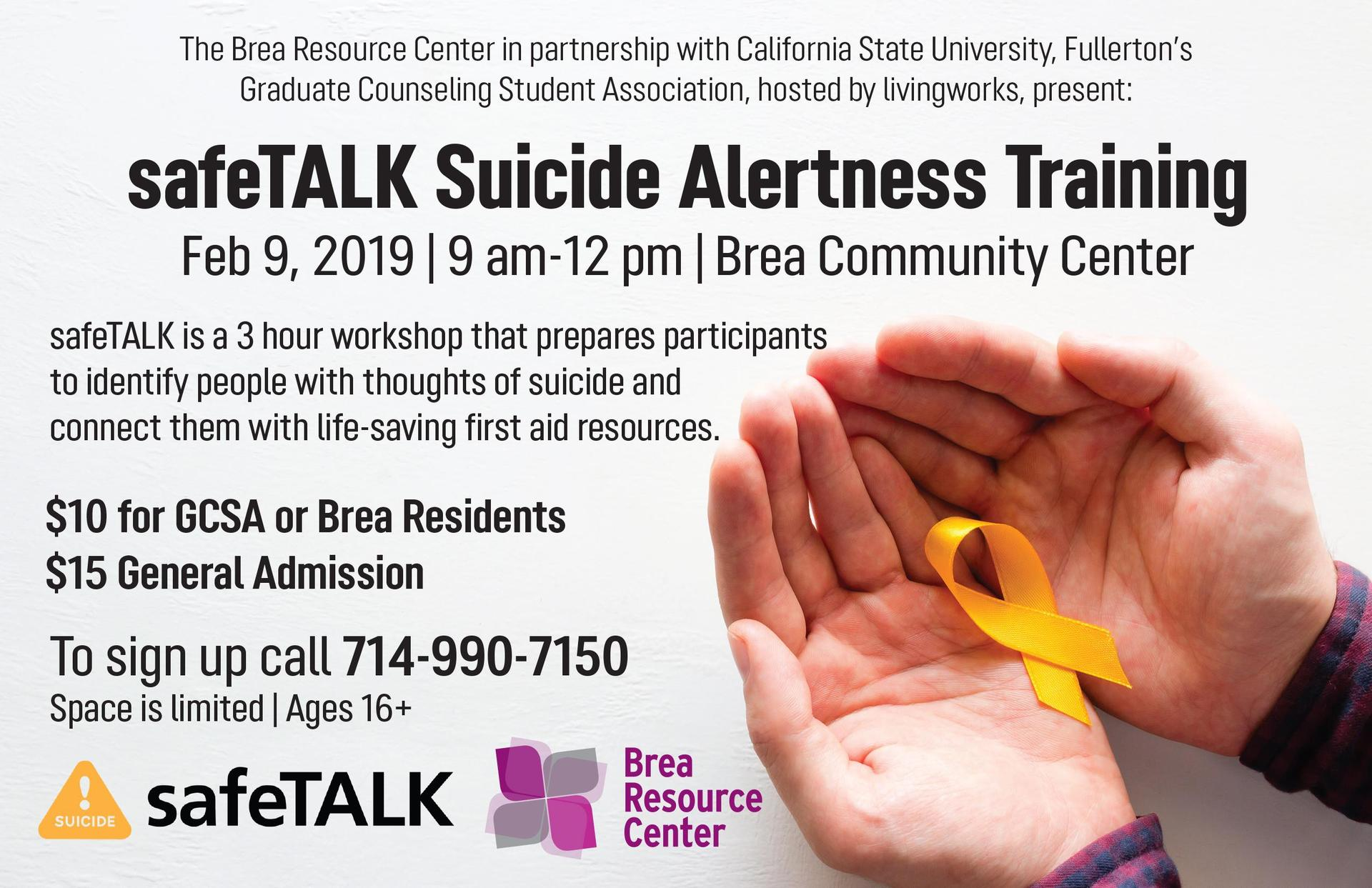 Safetalk Suicide Awareness