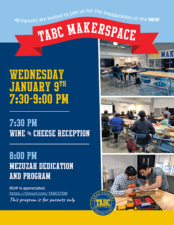 COME SEE TABC'S NEW MAKERSPACE! Thumbnail Image