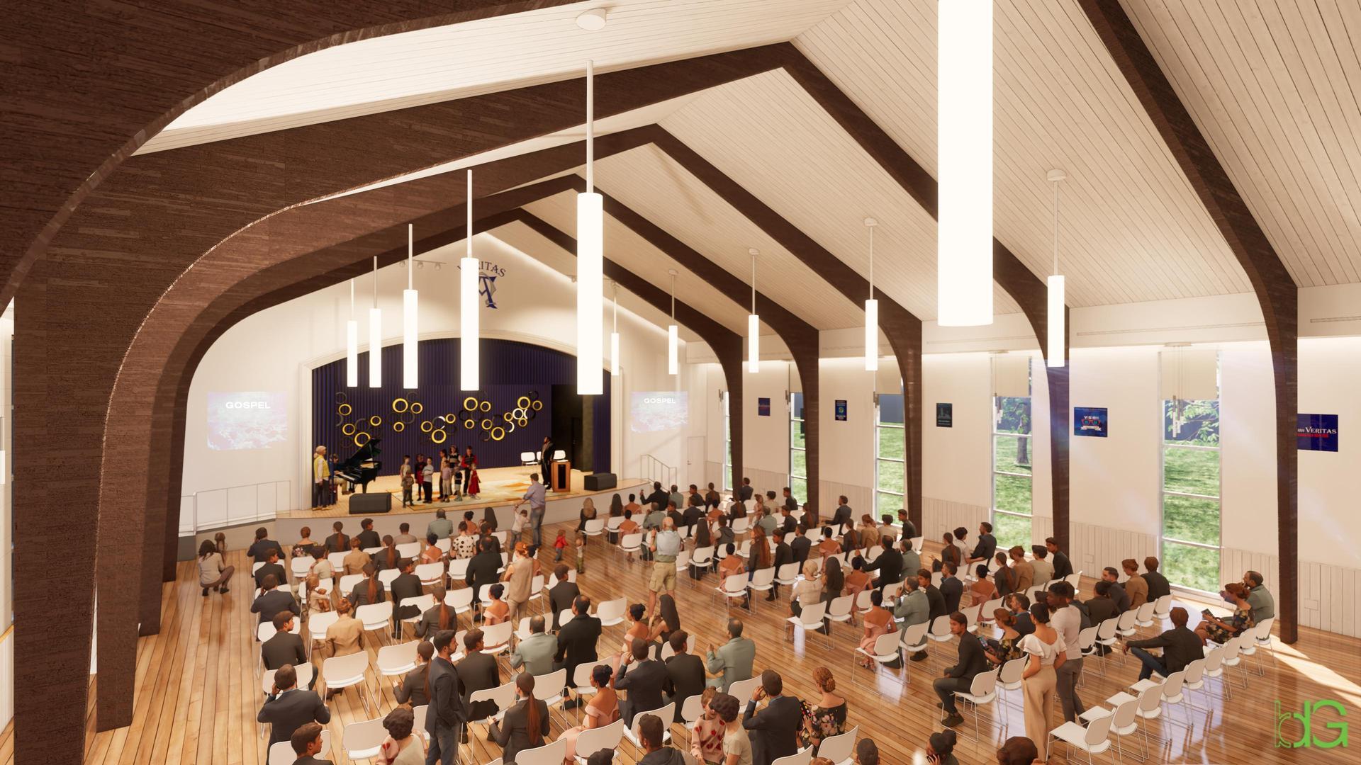 rendering - chapel