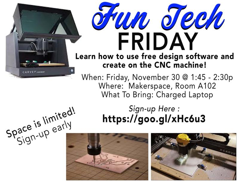 Fun Tech Friday in KHS Makerspace! Featured Photo