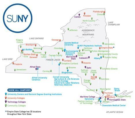 SUNY Campus Map