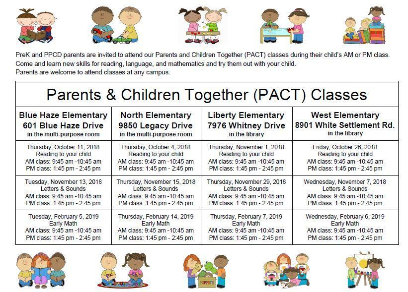 Parents and Children Together Classes