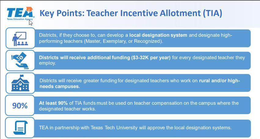 TIA key points