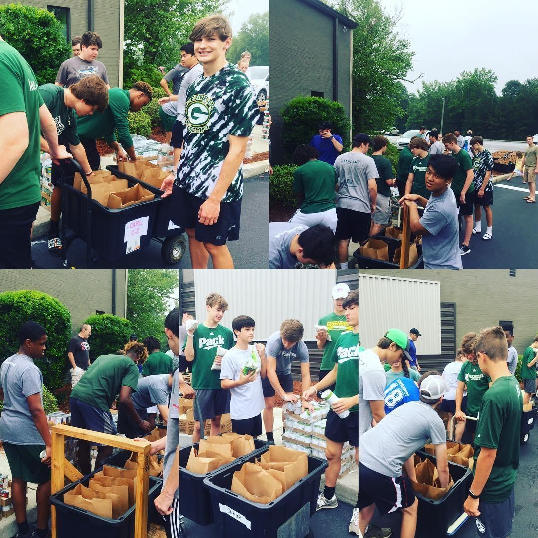 Pack FB out in the community