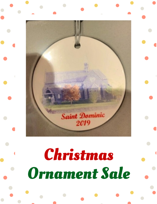 St. Dominic Christmas Ornament Sale Featured Photo