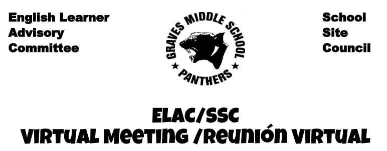 ELAC/SSC Virtual Meeting/ Reunion Virtual Featured Photo