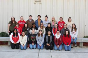 Yearbook class picture