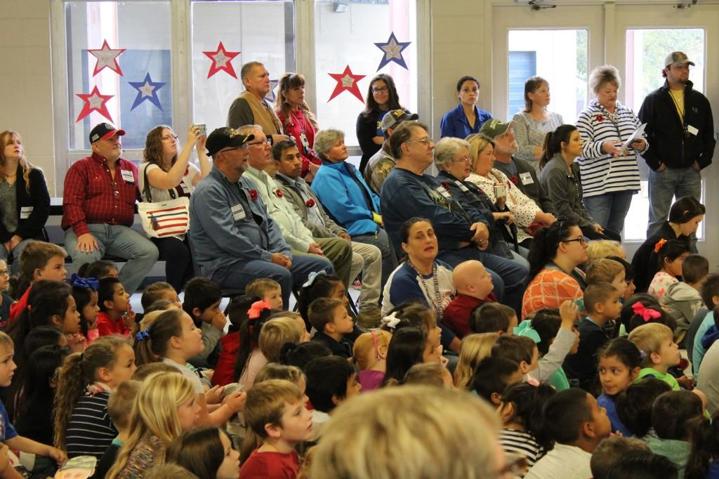 CES Music Program for Veteran's Day 2016