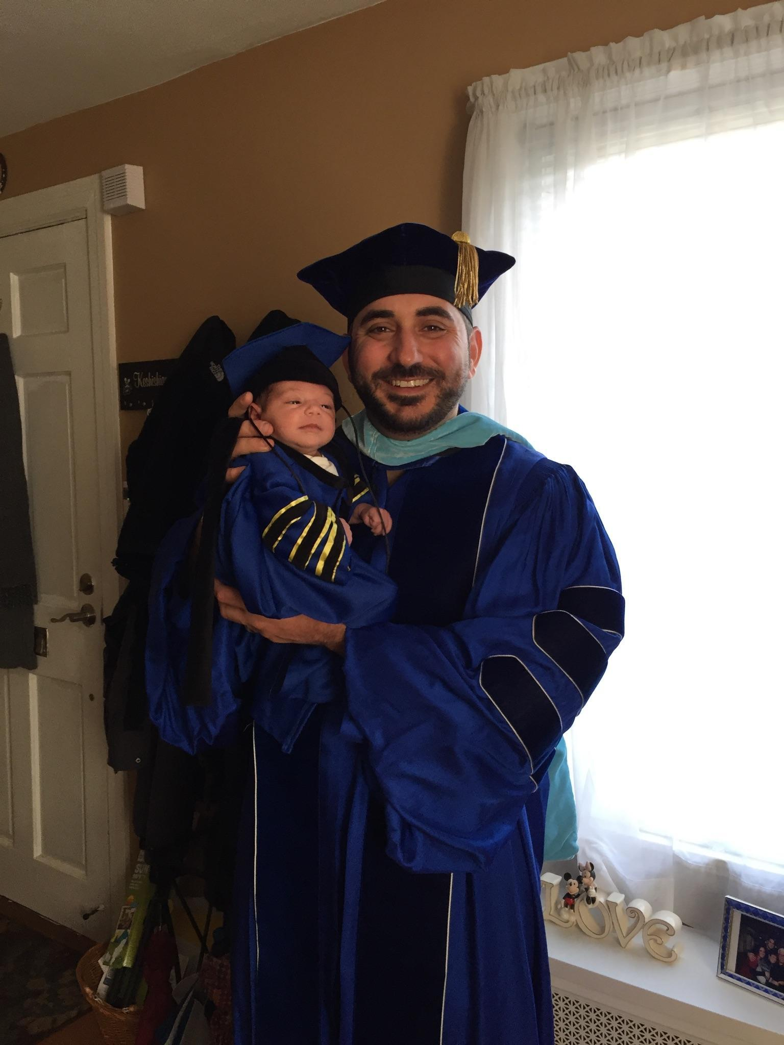 Picture in Doctorate Gown