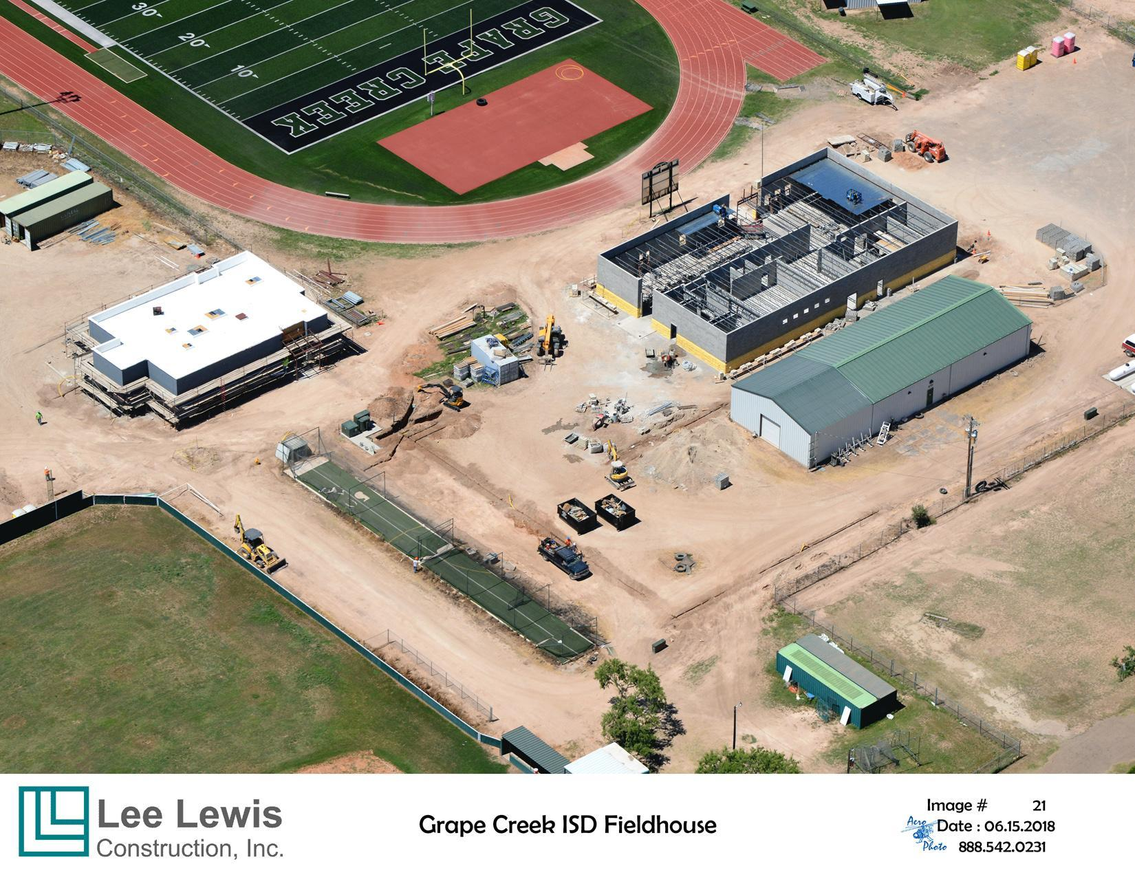 Aerial Boys and Girls Athletic Facilities