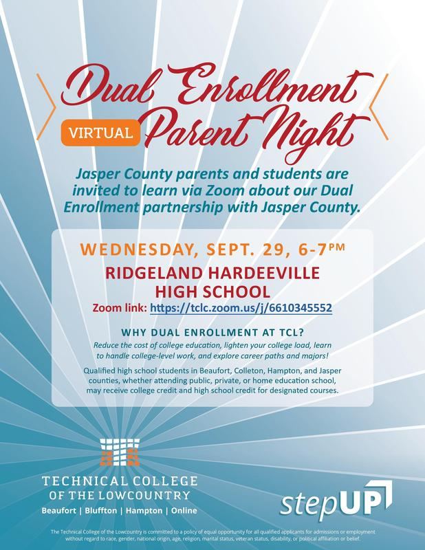 Dual Enrollment Virtual Parent Night-Noche Virtual de Padres de Inscripción Dual Featured Photo