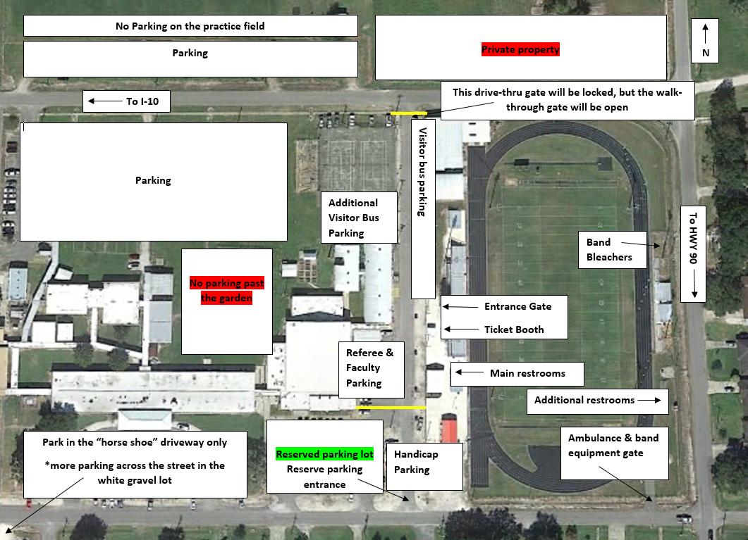 18-19 Parking Map
