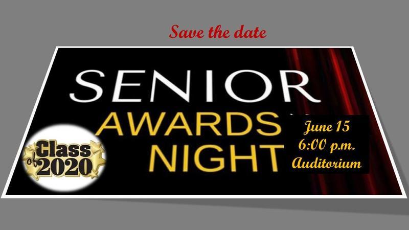 Senior Honors Night - June 15, 6 p.m. Featured Photo