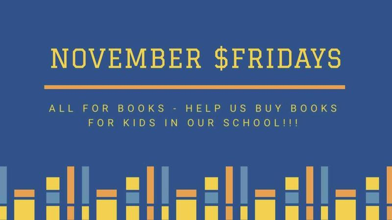 November $Fridays - All For Books! Featured Photo