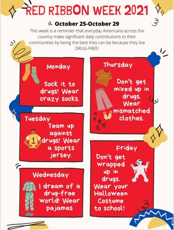 October 25-29th Red Ribbon Week Featured Photo