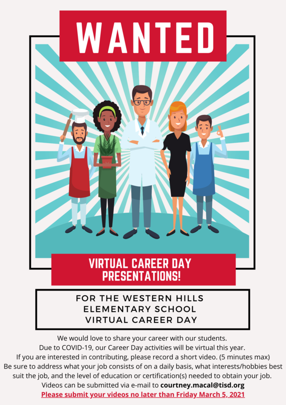 Virtual Career Day Presenters Wanted Featured Photo