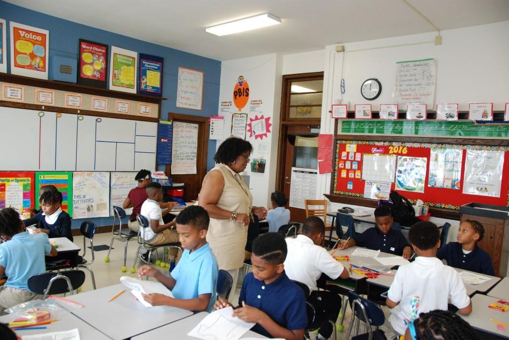 Fourth grade, Aspire Academy, 2016-17