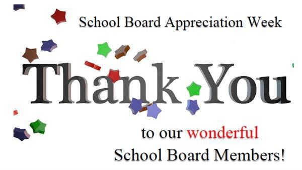 It's School Board Appreciation week in TN. Thank you,  @TCSchools_   board members for the support and guidance you devote to our children and employees. We appreciate you!