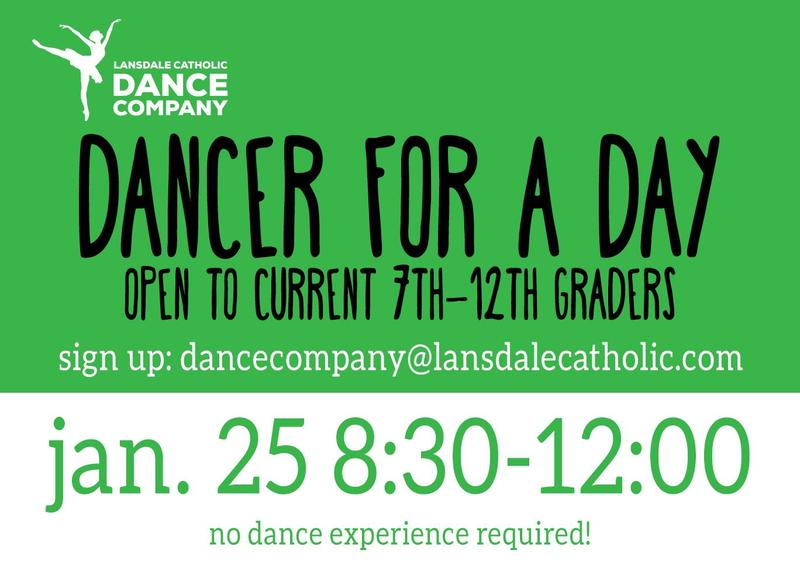 Dancer For A Day, Saturday, January 25 Featured Photo