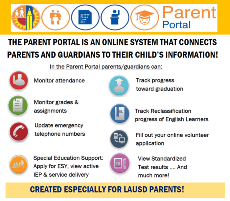 Sign up for the Parent Portal to access the most up to date information about how your child is doing in school! Featured Photo