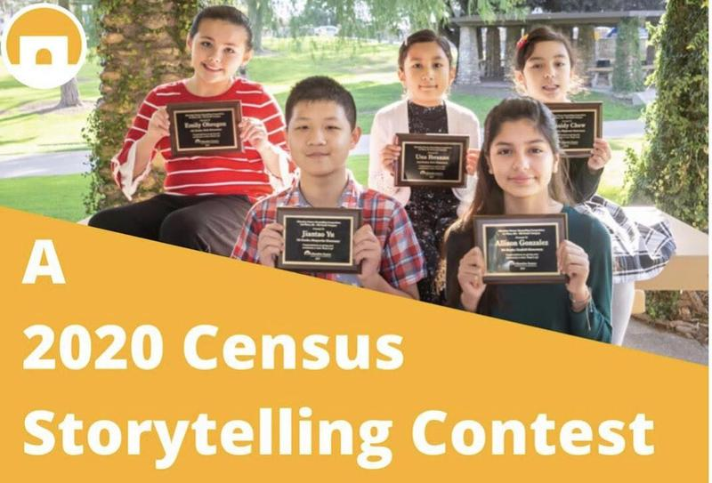 Six AUSD Elementary School Winners of the 2020 Census Storytelling Contest Featured Photo