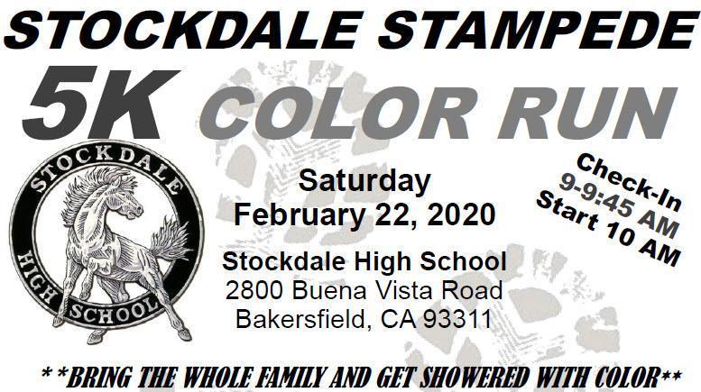 Stockdale Stampede 5K Color Run Thumbnail Image