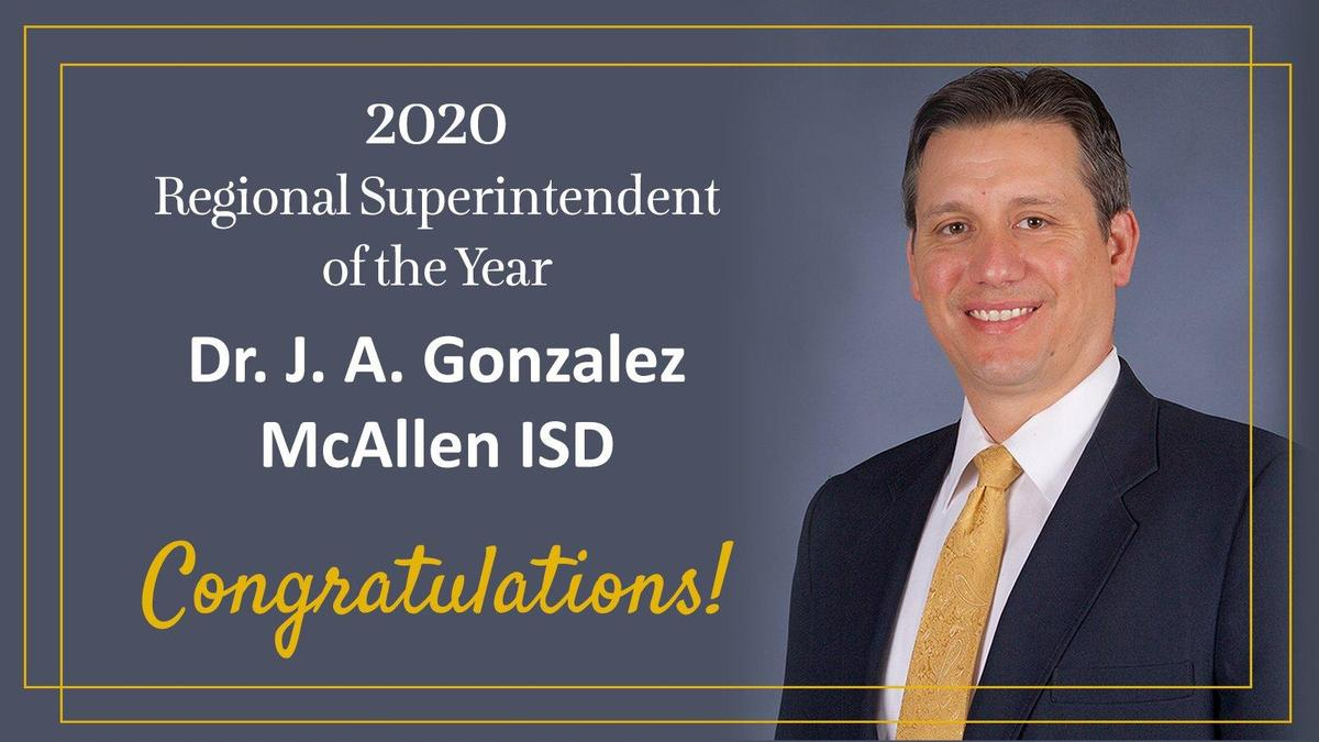 Regional Superintendent of the Year