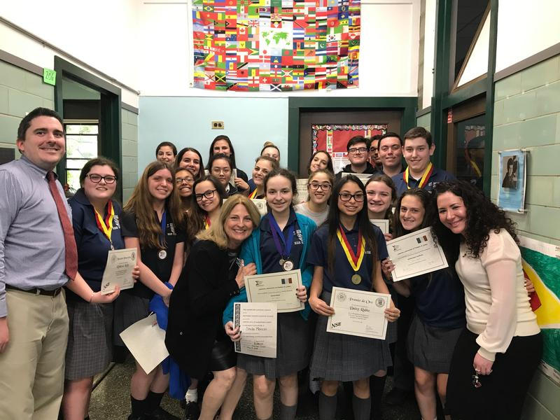 World Language Students Excel In National Spanish and Italian Exams Featured Photo