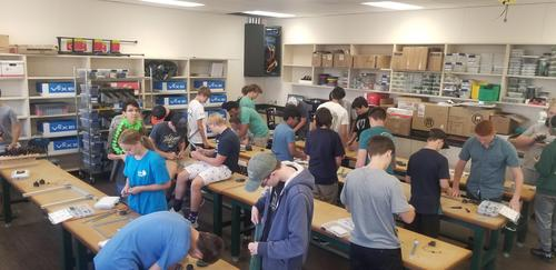 New room for robotics in action!