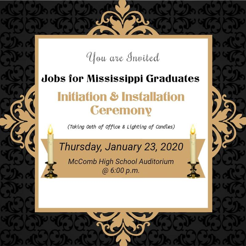 McComb High School hosts Jobs for Mississippi Graduates 2020  #ItsComeBackTime
