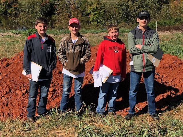 FFA Land Judging Team wins Area V Competition Featured Photo
