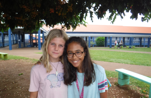 picture of two Kalama students