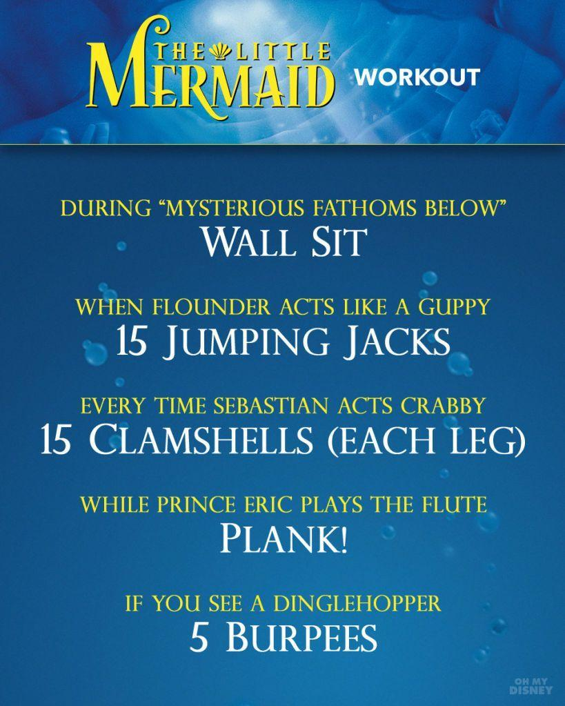 Little Mermaid Workout