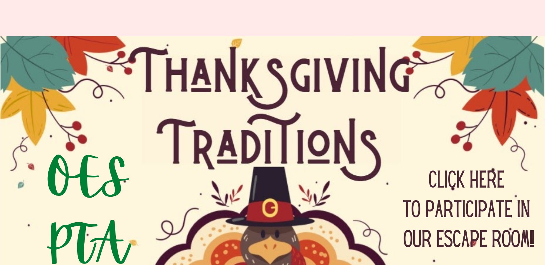 OES Thanksgiving Escape Room