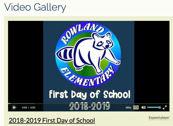 1st Day of School Slideshow Featured Photo