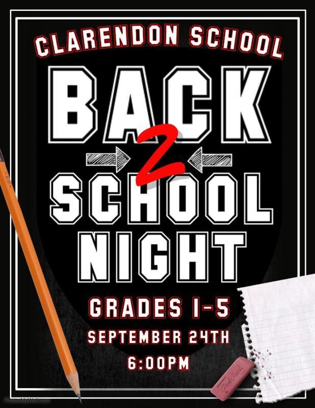 Clarendon Back to School Night Thumbnail Image