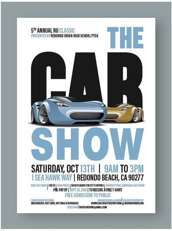 RU Classic Car Show Flyer