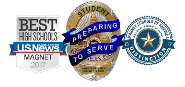 Reseda's Police Academy Magnet Awarded a Distinguished Magnet Two Years in a Row Featured Photo