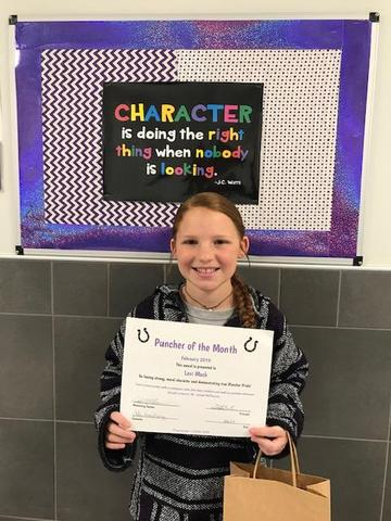 Lexi Mock, 5th Grade