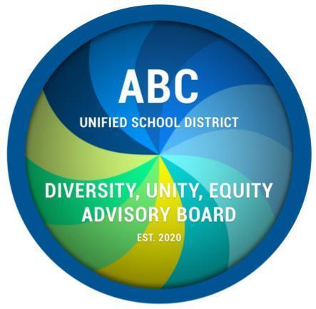 ABC Diversity, Unity, and Equity logo