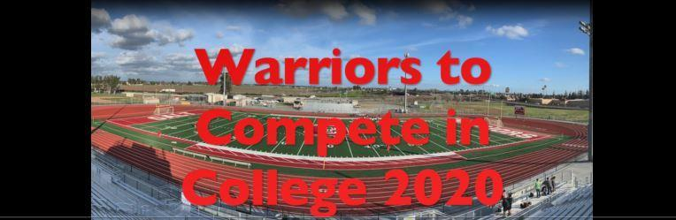 Galt High Athletes to Continue in College 2020 Thumbnail Image