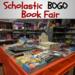 scholastic bogo book fair