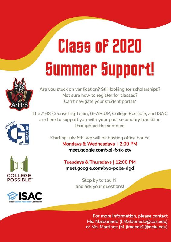 Summer Support from the Counseling Office Featured Photo